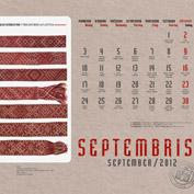 kalendars 2012
