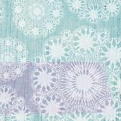 """Dubultā Ziemassvētku pastkarte """"Ziemassvētku mežģīnes"""""""