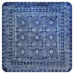 Cup coaster Blue textile II