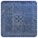 Cup coaster Blue textile I