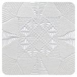 Cup coaster White textile