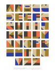 Art print Alphabet