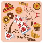 Cup coaster La Dolce Vita