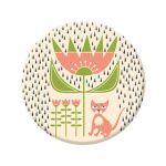 Badge Kitten in the rain