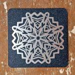 Cup coaster Snowflake, II