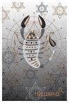 Pastkarte Zodiaki. Skorpions