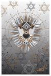 Pastkarte Zodiaki. Lauva