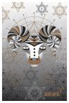 Postcard Zodiacs. Aries
