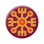 Badge Sun sign II