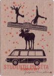 Postcard Students' Jelgava