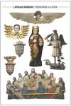 Postcard Treasures of Latvia. Wooden sculptures 16–19th century