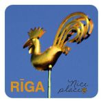 Magnet Cock of Riga Dome