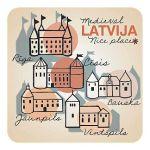 Magnet Medieval Latvia
