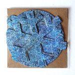 Sešu dekoru komplekts Austra, zilā versija