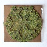 Sešu dekoru komplekts Austra, zaļā versija