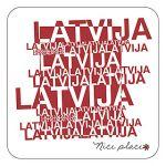 Magnētiņš Latvija