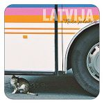 Magnet Cat under the bus